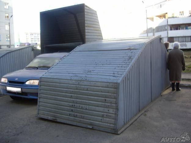 Купить складной гараж ракушку купить гараж чебоксары центр