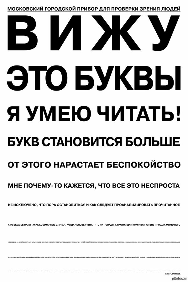 БУКВ СТАНОВИТСЯ БОЛЬШЕ Аж 1997 года, кликабельно.