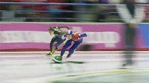 Конькобежный спорт в стиле Марио Карт