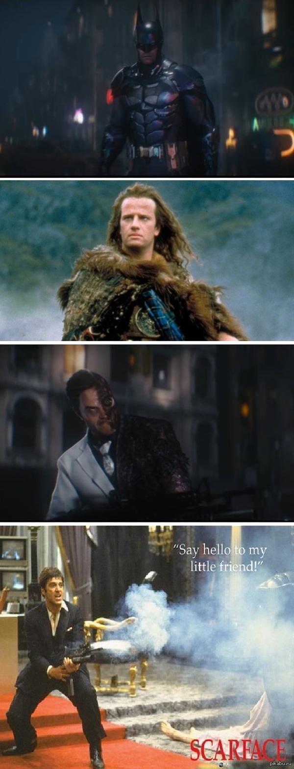 Интересное совпадение в Batman: Arkham Knight Что я в первую очередь увидел, когда смотрел свежий трейлер