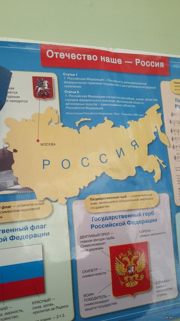 Великая Россия Вот такой плакат висит у нас в школе. ( Г. Мегион, школа №4 )