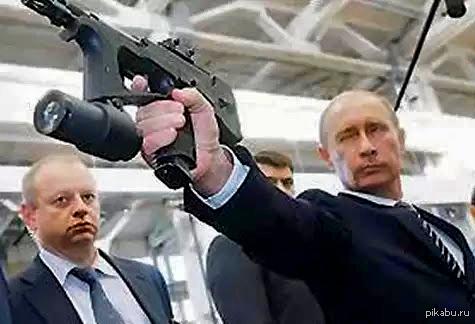 В поддержку милитари на пикабу. Путин и пп2000