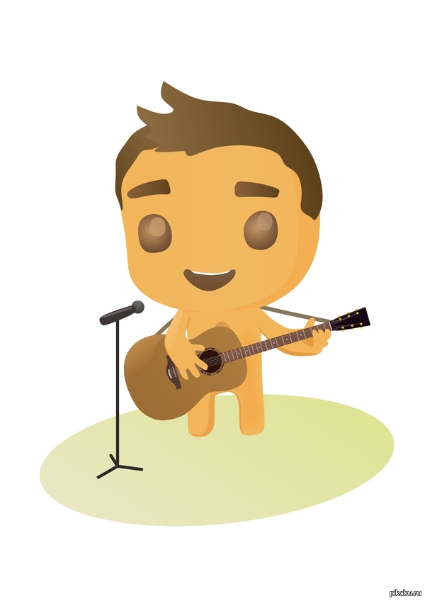 Печенька - гитарист В поддержку тега [моё] =)