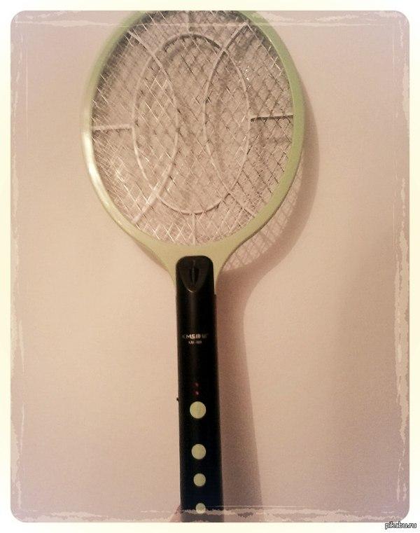 Ну, комары! Немного тенниса...