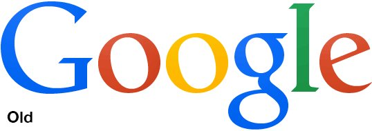 Почувствуй разницу Сравнение старого и нового логотипа гугла