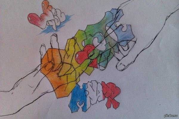 рисовал от скуки для возлюбленной) думаю надо поучиться еще рисовать? как считаете?