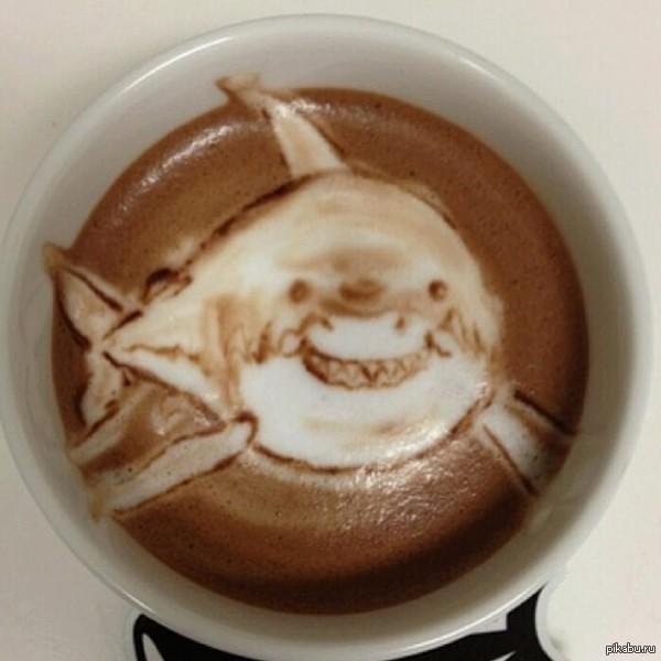 Знакомый отдыхал в Египте и заказал как-то кофе в отеле... после этого он уже не ходил купаться в Красное море)