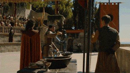 Альтернативная концовка битвы Оберина и Горы, которая устроила бы всех фанатов И жили они долго и счастливо...