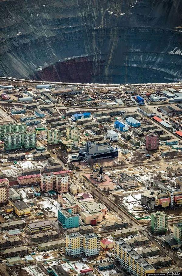 мирный город фото якутия