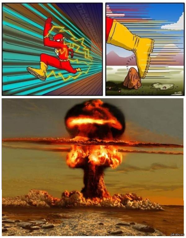 Суперскорость - не лучшая способность...