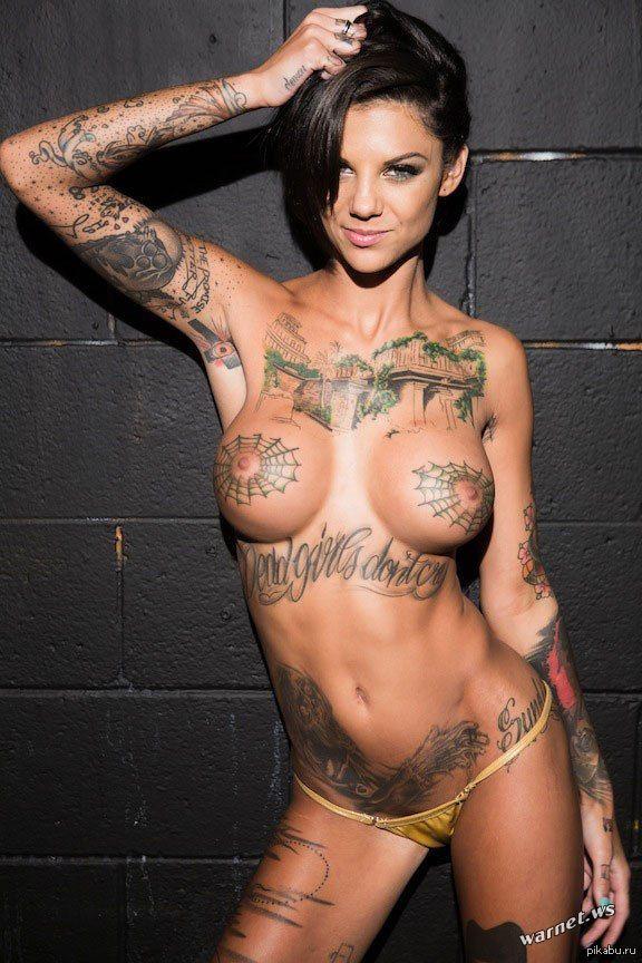 Список порноактрис с татуировками
