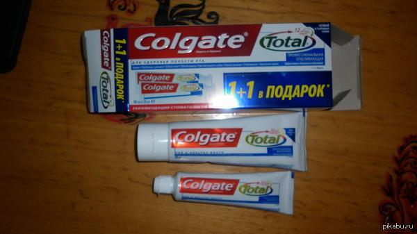 Повелся на рекламу, получил половину... Купил зубную пасту 1+1,а там оказалось 1+0.5. Разочарование от ожидания. Оказывается, теперь даже при покупки зубной пасты нужно читать, что там под звездочкой.