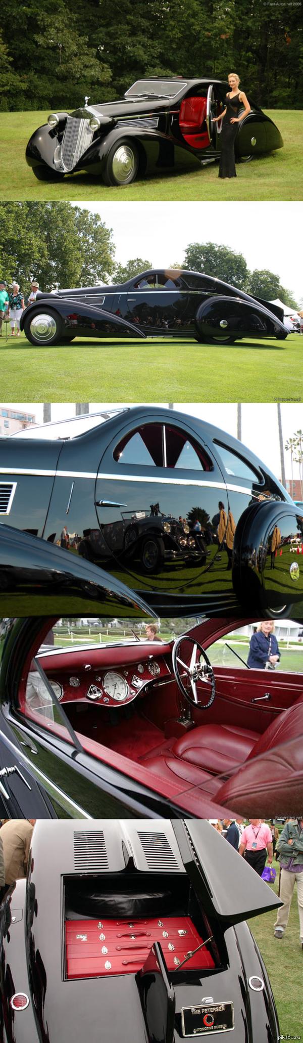 А мне нравится такой Rolls Royce И да, у него круглые двери)