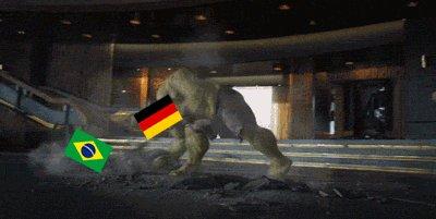 Краткое содержание 1 тайма Бразилия - Германия