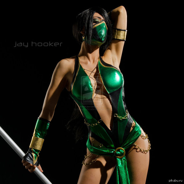 Косплей Jade (MK) Фанаты МК оценят! :)