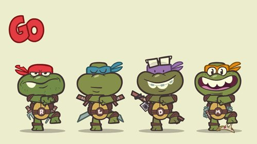 Go Ninja! Черепашки ниндзя