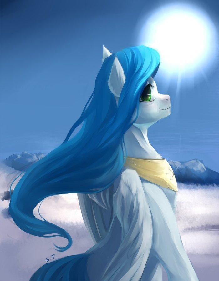Зима My little pony, Original Character, Ponyart