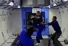 Ловушка для астронавта Невесомость, МКС, Kibo, Гифка