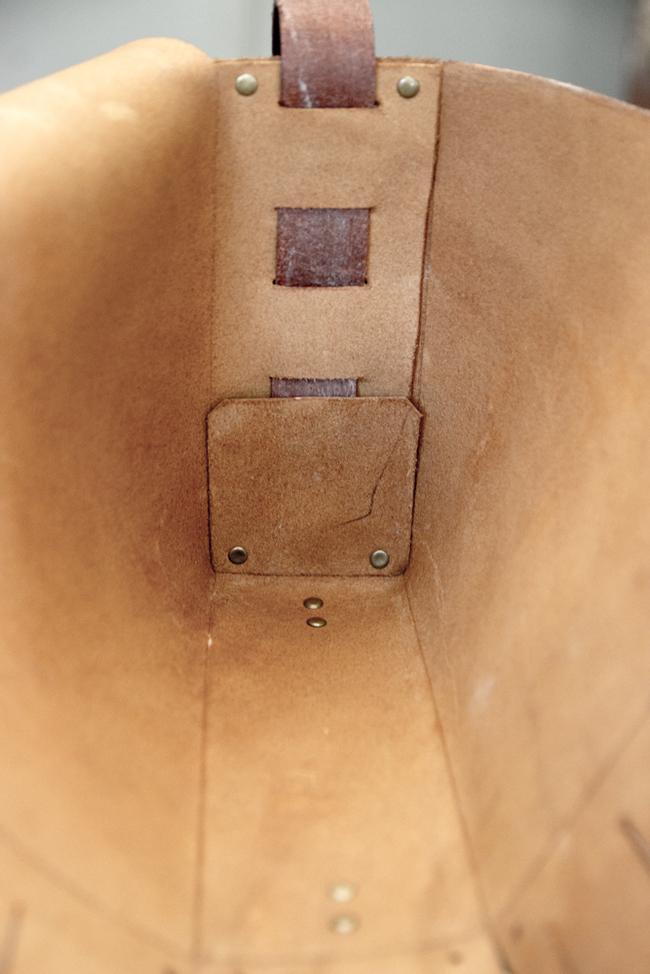 Бесшовная сумка из натуральной кожи сумка, ручная работа, кожа, бесшовная, handmade, длиннопост