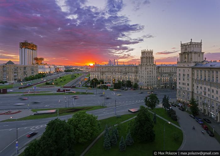 Немного красивой Москвы Фотография, Закат, Москва, Max Polazov, Длиннопост