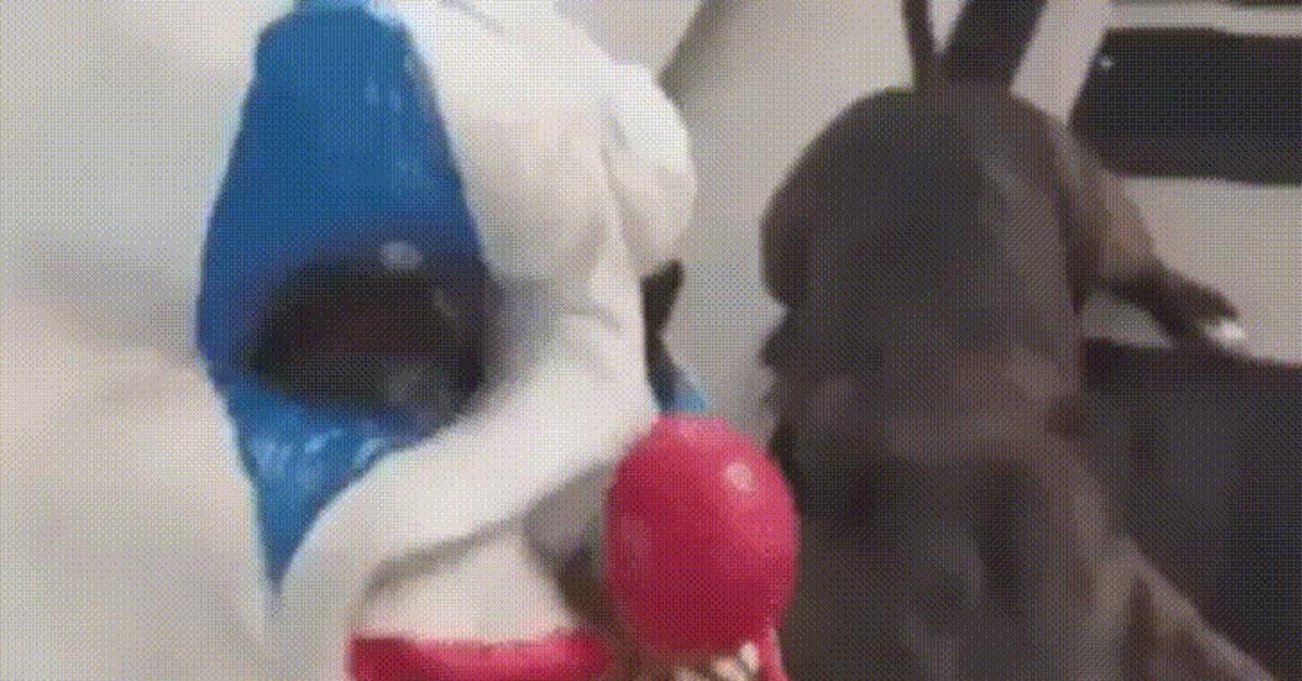 История, маска гифка пес