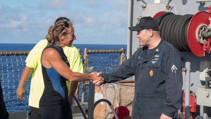 В Тихом океане спасли женщин, пять месяцев дрейфовавших на яхте яхта, океан, длиннопост, видео