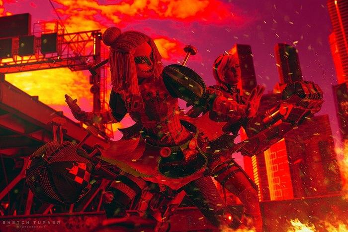Orianna & Vi Косплей, Игры, League of Legends, Vi, Orianna, Девушки, Длиннопост