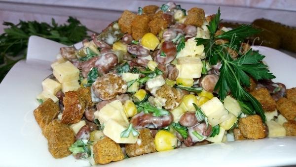 Показать рецепты вкусных салатов видео