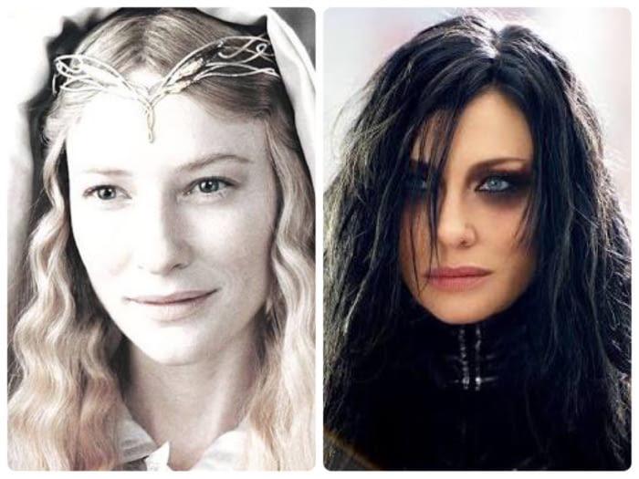 Если бы леди Галадриэль надела кольцо...