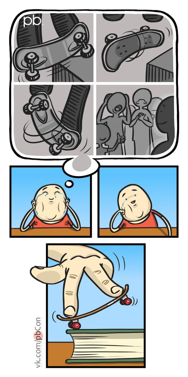 Забытое искусство Pbcon, Комиксы, 2007, Воспоминания, Длиннопост