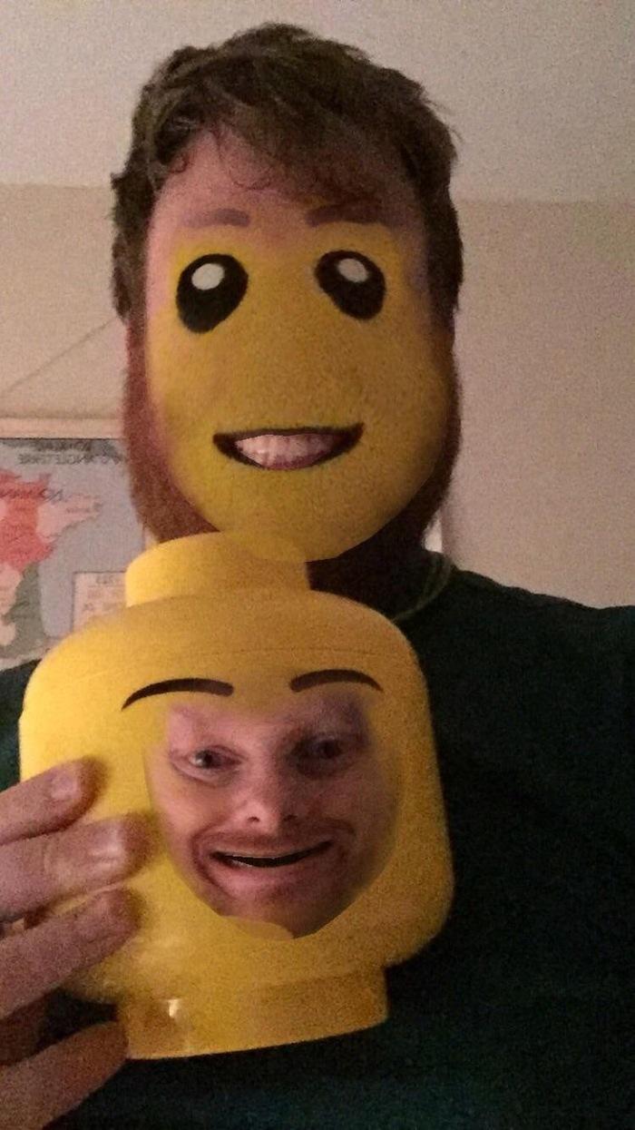 Face swap и лицо человечка Lego Face swap, Лицо, Lego, Reddit