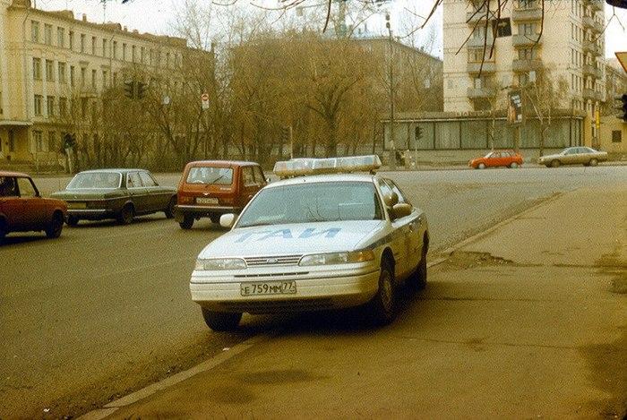 Moscow Милиция Форд, Ford Crown Victoria, Милиция, История, 90-е, Длиннопост