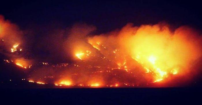 Обычное лето в Кейптауне. Пожары Пожар, ЮАР, Длиннопост