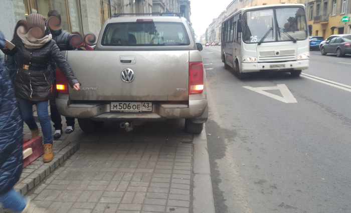 Я паркуюсь как чудак (продолжение) Парковка, Парковка на тротуаре, Санкт-Петербург