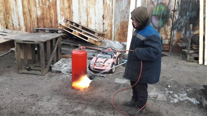 Когда на улице холоднА Узбекистан, Огонь, Газ, Техника безопасности