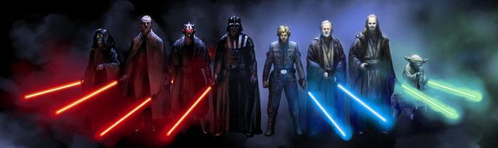 Джедаи и ситхи: различия философий, мировоззрений и особенностей Star wars, Ситхи, Джедаи, Сила, Фантастика, Длиннопост