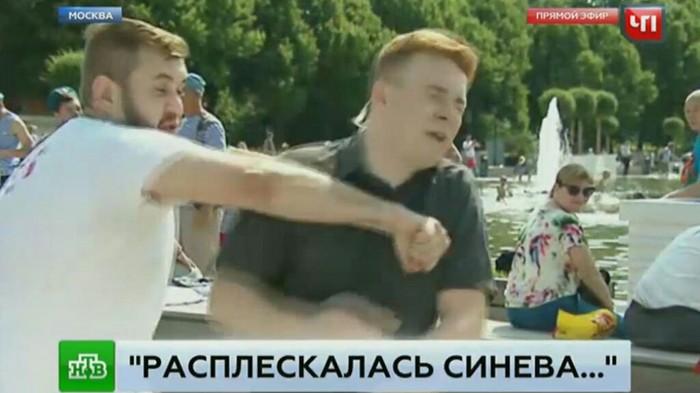"""""""Десантник"""" vs журналист НТВ.Развязка. Колобок, Журналисты, НТВ, День ВДВ, Видео"""