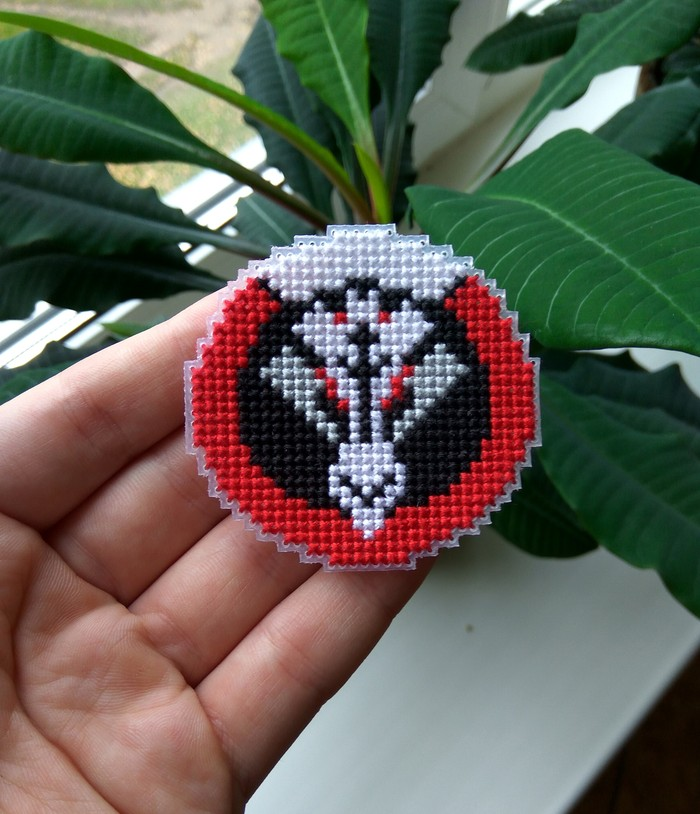 Логотип Blackwatch Blackwatch, Overwatch, Нашивка, Вышивка крестом, Своими руками, Ручная работа