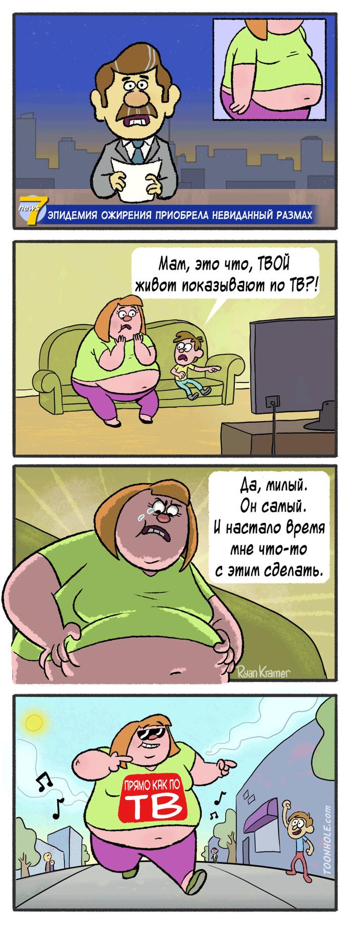 Эпидемия Ожирения Комиксы, Atrandomcomics, Длиннопост, М:, Toonhole