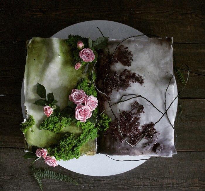 Волшебные десерты от Елены Гнут Торт, Десерт, Кондитер, Длиннопост
