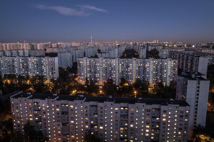 Подборка фотографий спальных районов Москвы с высоты Москва, Спальный район, Панельки, Все тлен, Длиннопост