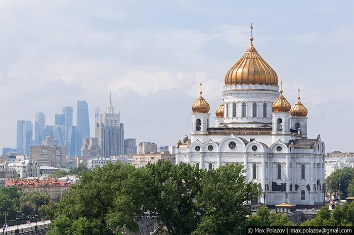 Немного красивой Москвы (Часть 3) Фотография, Подборка, Москва, Max Polazov, Длиннопост, Крыша, Высота