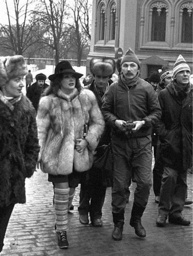 Ретро фото. Пугачева и Николаев, начало 80-х.