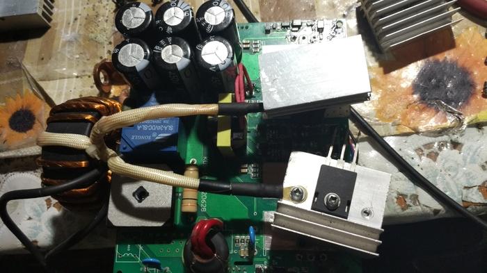 Поднимаем очередной сварочник... инвертор, Сварочный Инвертор, ремонт, силовая электроника, длиннопост