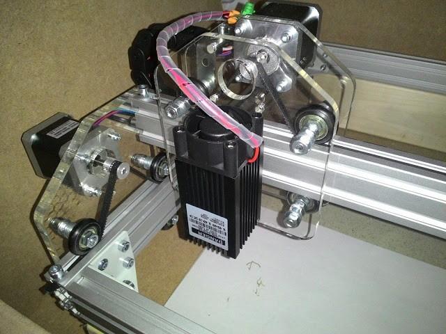 Делаем лазерный резак/гравер формата А3 за один день ЧПУ, своими руками, лазер, длиннопост, Копипаста, видео