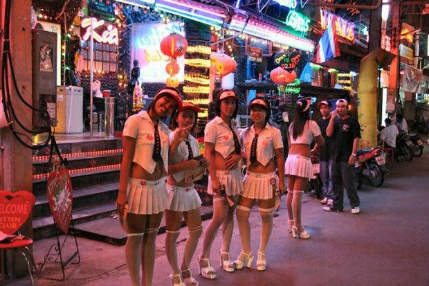 Порно в го барах таиланда видео