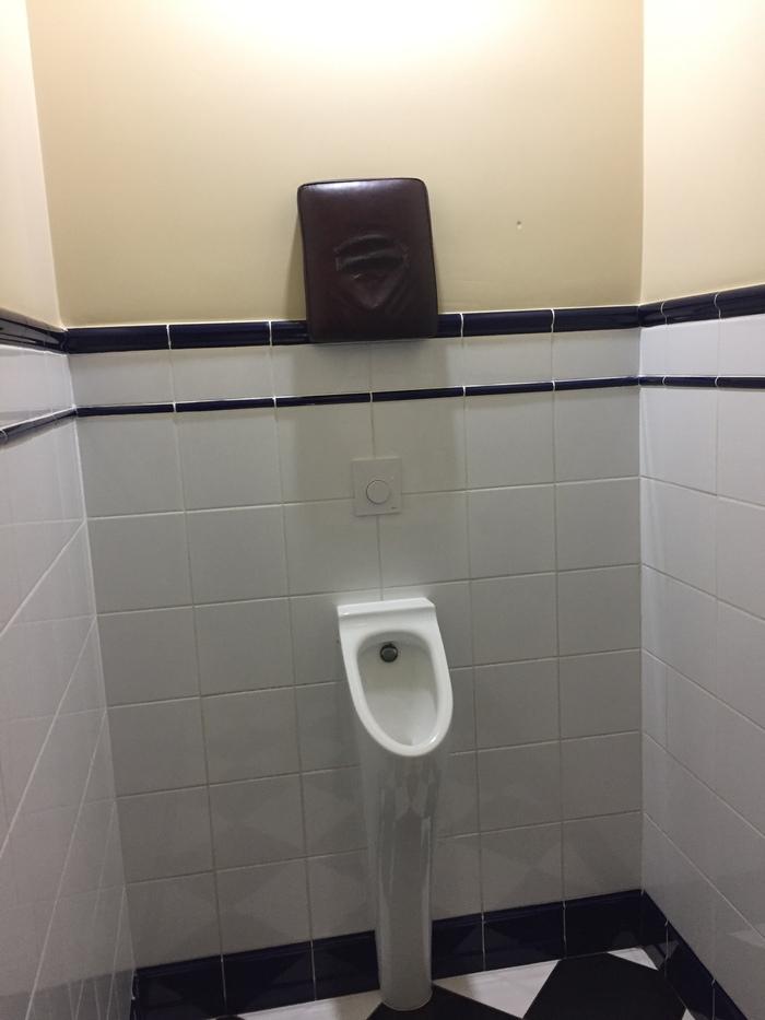 Когда дизайнер - мужик. Туалет, Писсуар