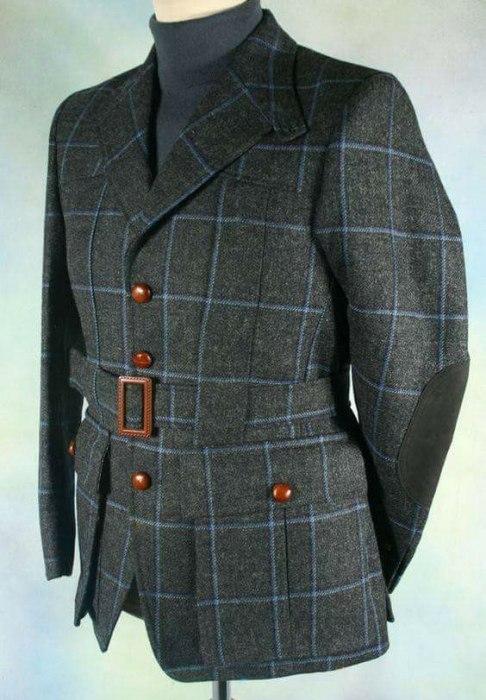 В мире вещей. Норфолкский пиджак. Подмостовье, Костюм, Пиджак, Длиннопост