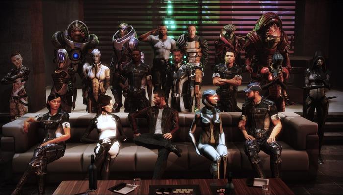 Mass Effect исполнилось 10 лет Mass effect, 2007, Игры, Компьютерные игры