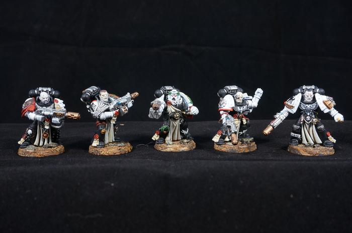 Raven Guard Sternguard veterans Wh miniatures, Warhammer 40k, Raven guard, Миниатюра, Моделизм, Длиннопост